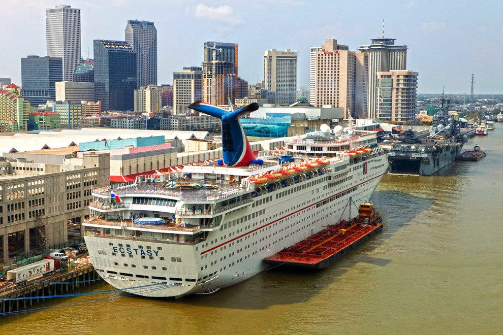 Carnival Cruises Operates Several Ships out of the Port of New Orleans