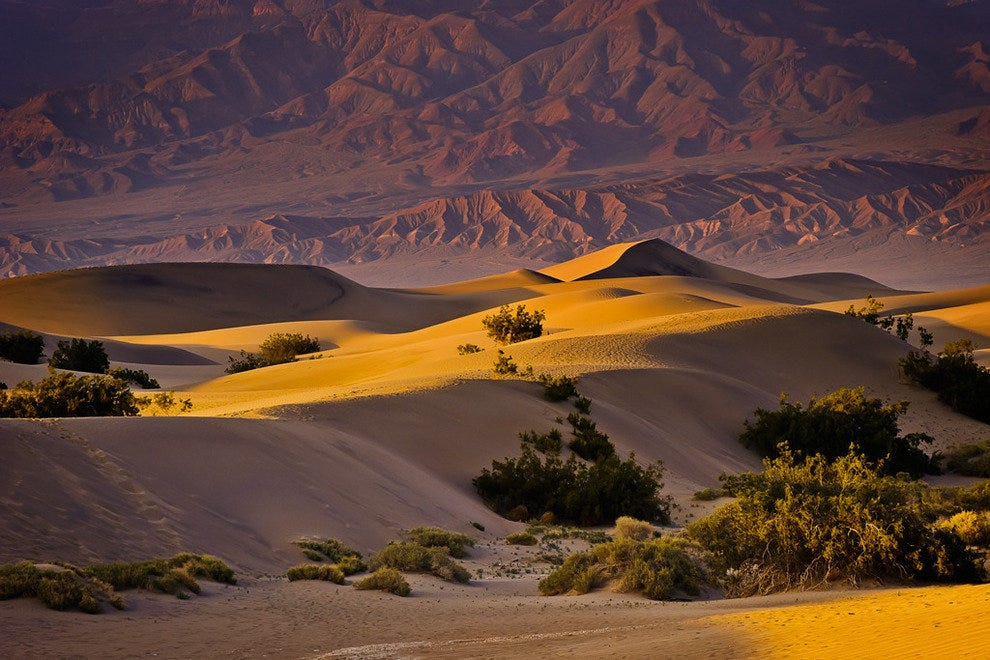 The Dunes of Death Valley National Park
