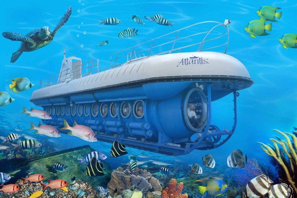 Atlantis Submarines Expedition