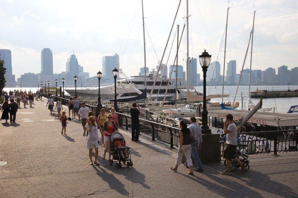Westside Park waterfront