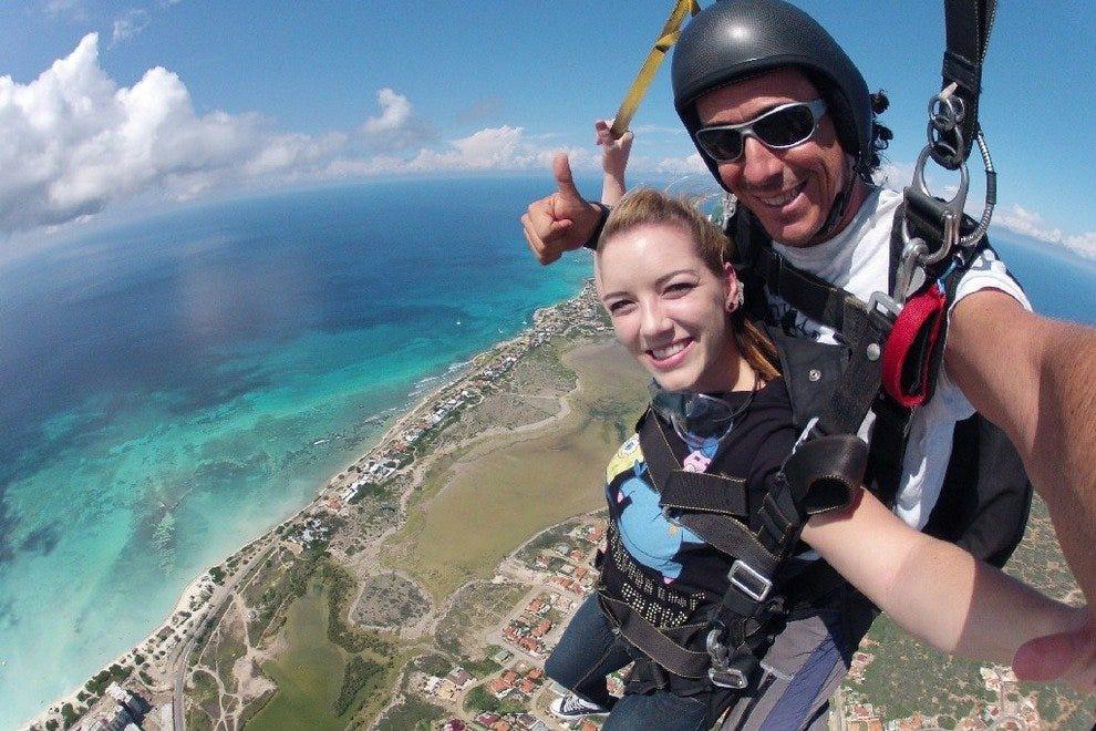 跳伞Aruba