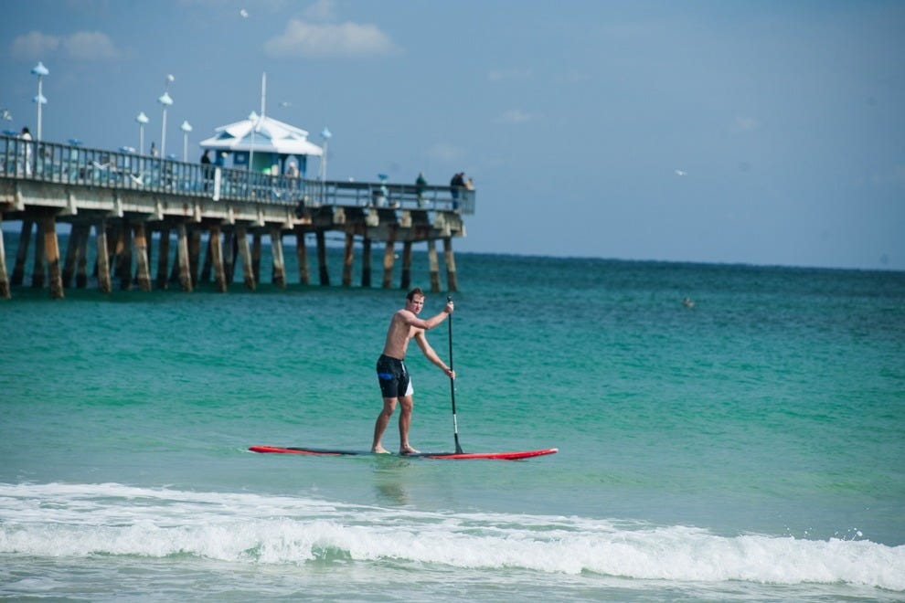 Standup paddleboarding in Fort Lauderdale