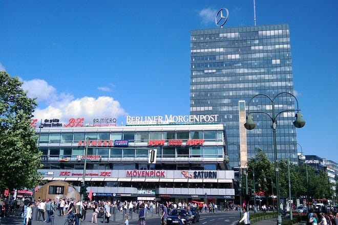 Shopping Centers in Berlin