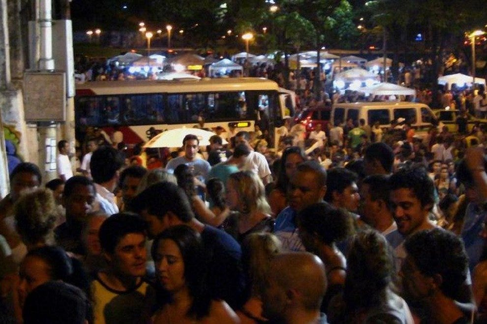 Lapa is the heart of nocturnal Rio