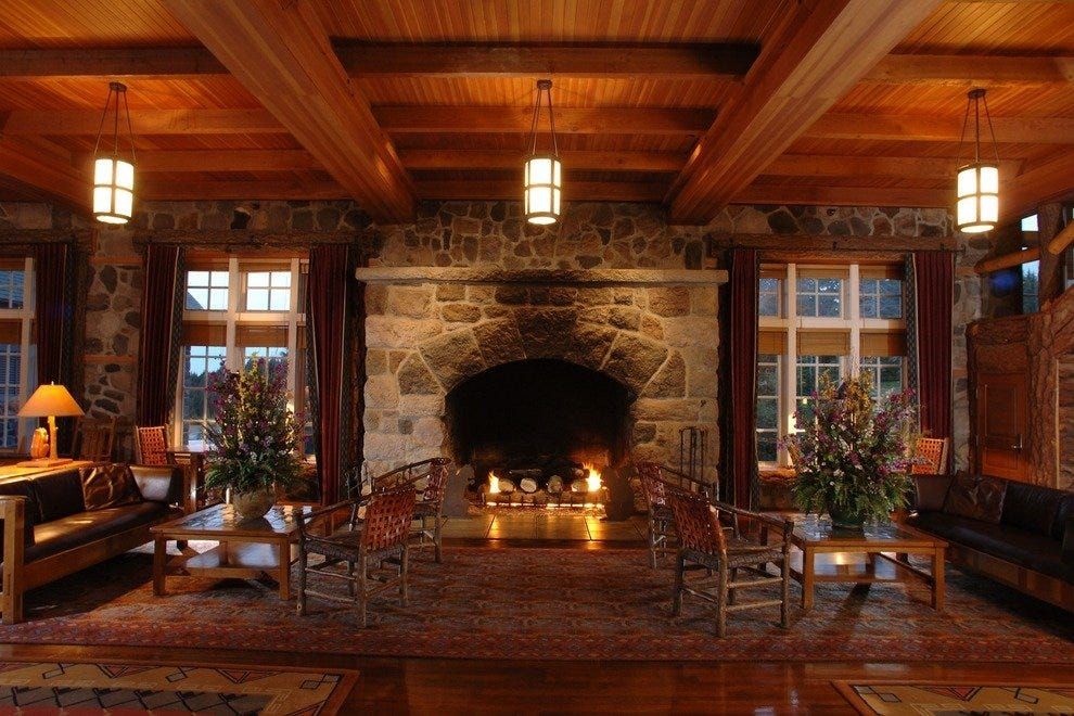 Crater Lake Lodge Great Hall
