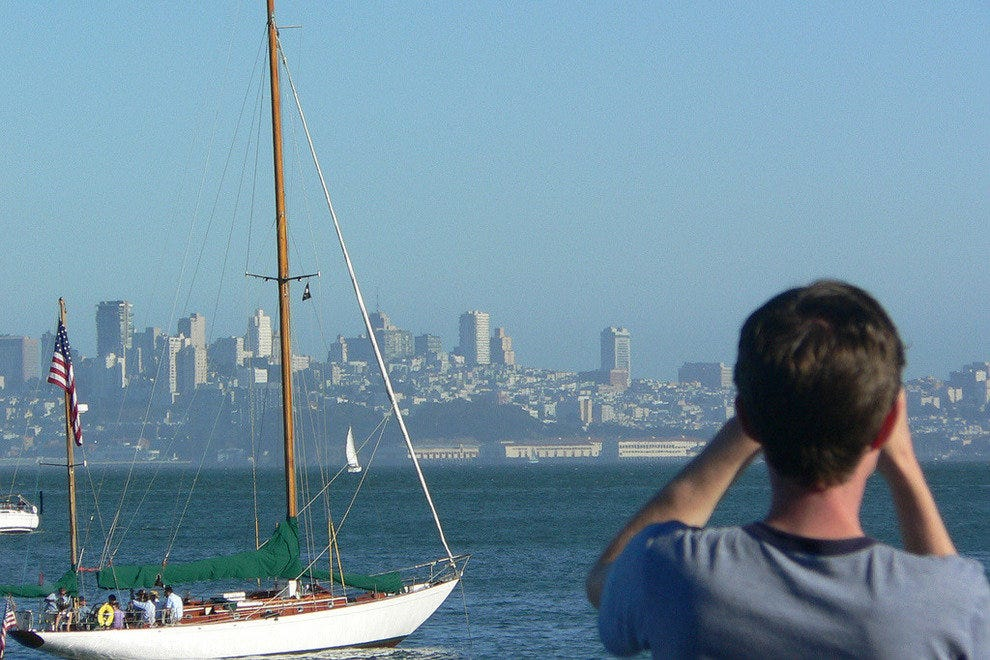 View from the Sausalito ferry