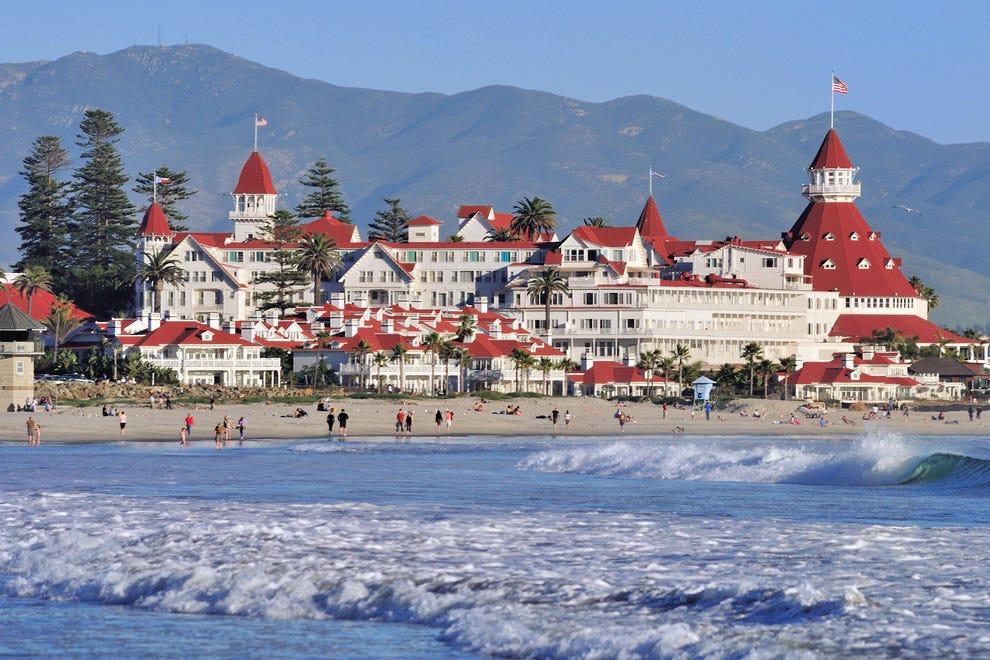 The iconic Hotel del Coronado