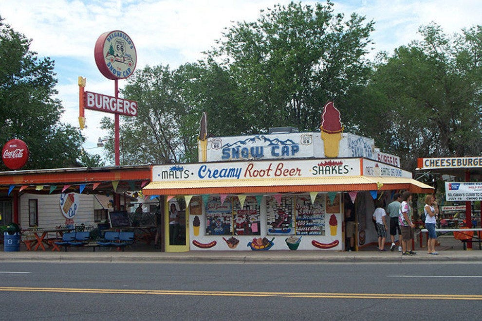 Arizona - Delgadillo's Snow Cap Drive-In