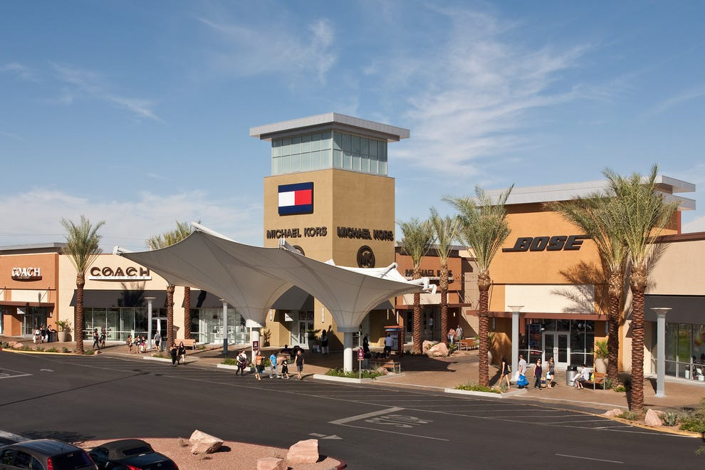 Welcome to Las Vegas Premium Outlets - North, every bargain shopper's dream. Located in Downtown Las Vegas, the mall features more than shops in an outdoor plaza, come prepared with comfy shoes, sunglasses and bottled water. You're about to get into some serious shopping.