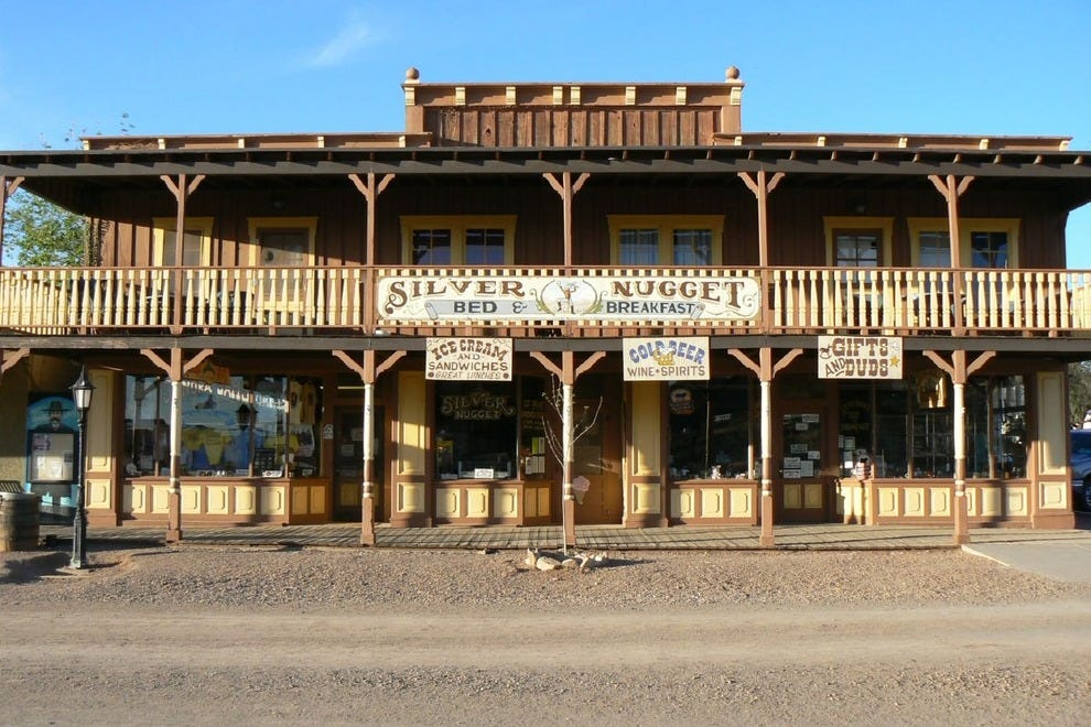 Western facade in Tombstone, AZ