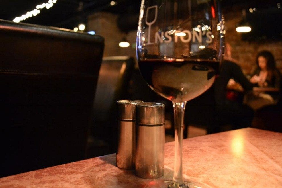 Winston's is Savannah's only dedicated wine bar.