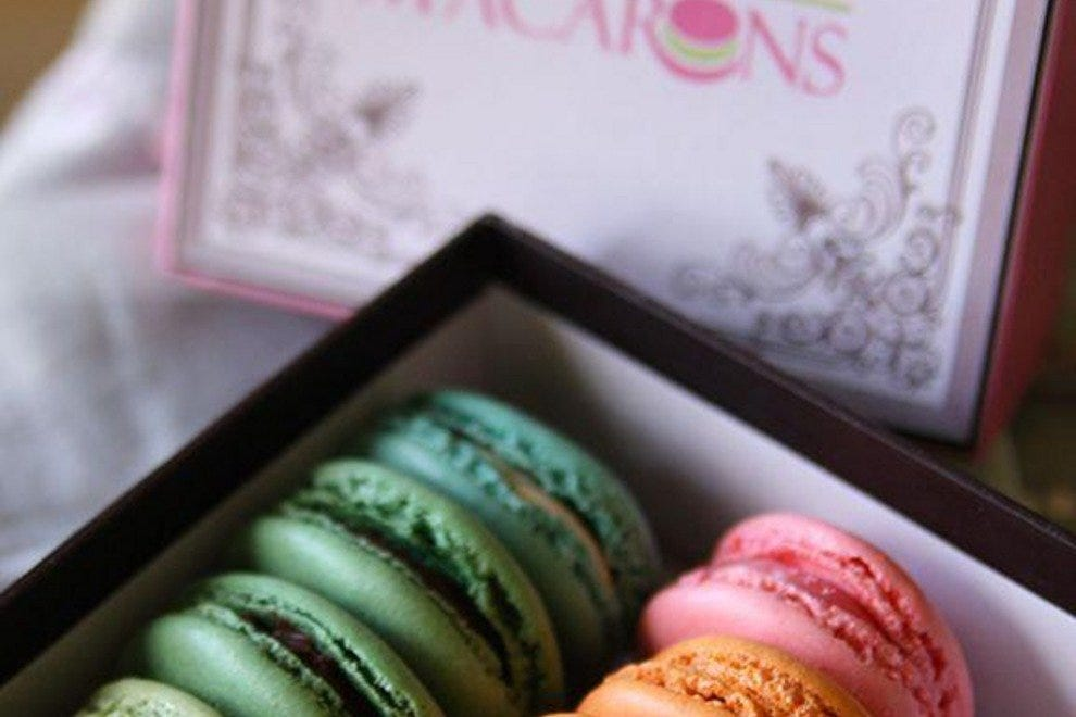 The macarons can be packaged and shipped anywhere in the U.S.