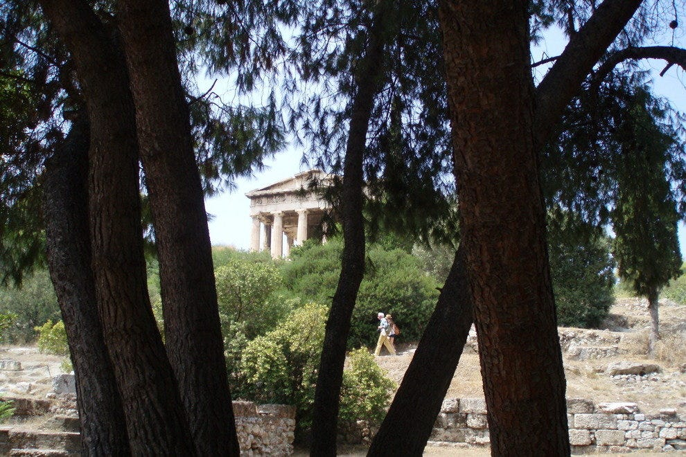 Temple of Hephaestus in Thission