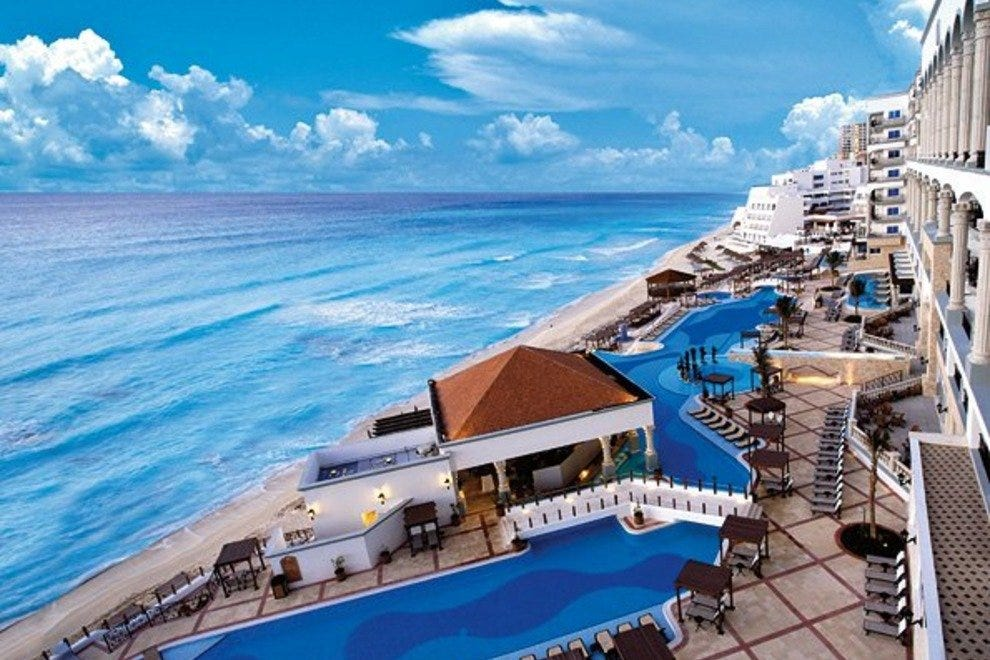 The Royal is one of Cancun's most popular resorts