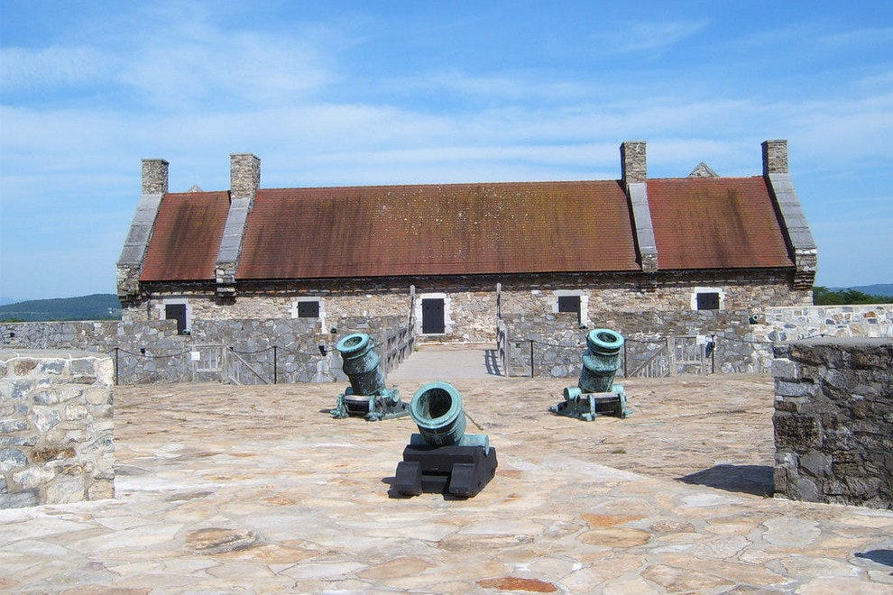 Cannons at Fort Ticonderoga