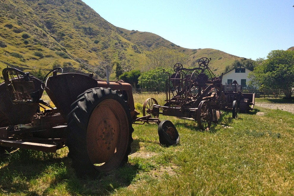 Farming Equipment on Santa Cruz