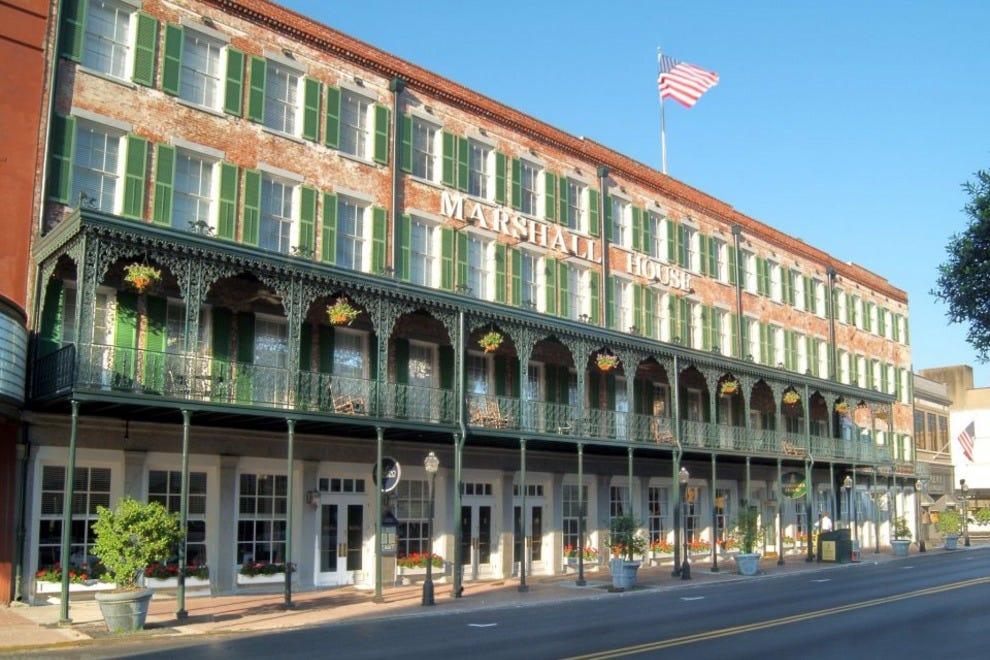 Hotels In Historic Downtown Savannah Ga