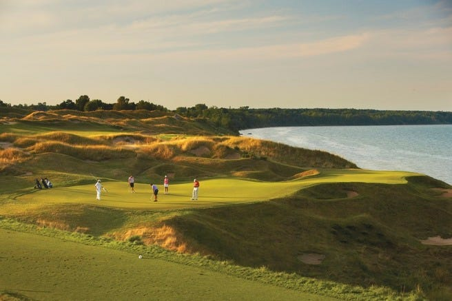 Whistling Straits  - The Straits Course