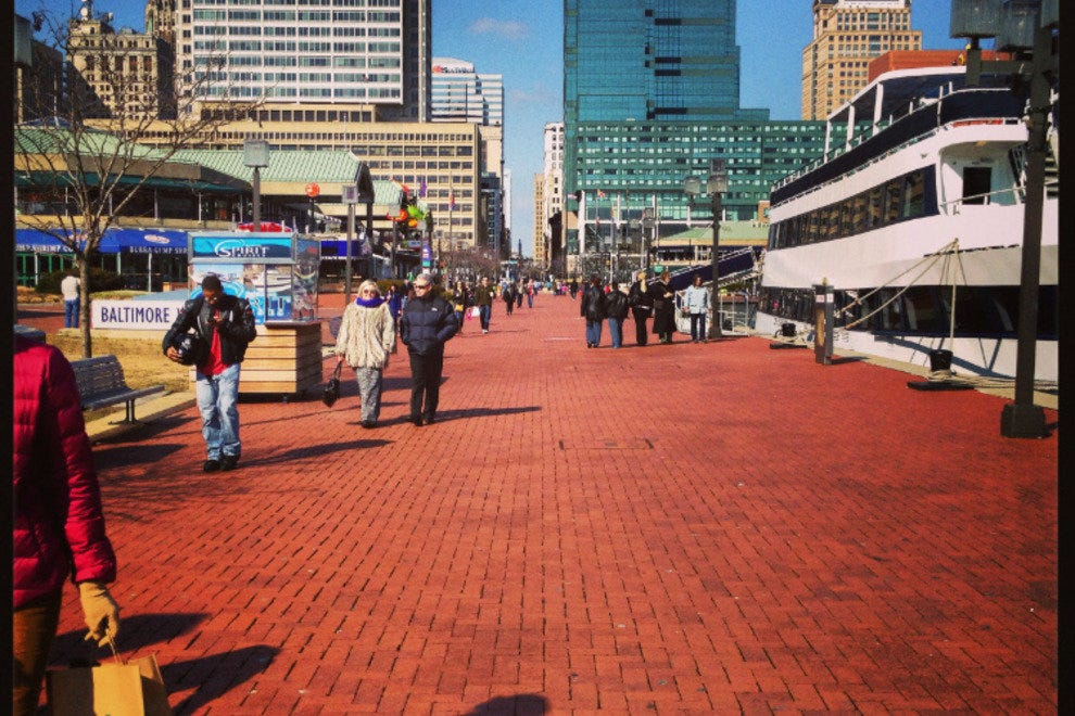 Stroll along the Inner Harbor or take a day cruise