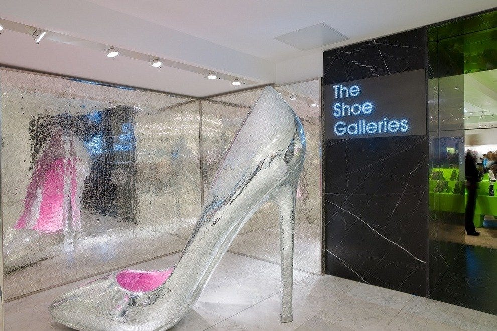 df4ae25721d3 World s Largest Shoe Department. Although married to a ...