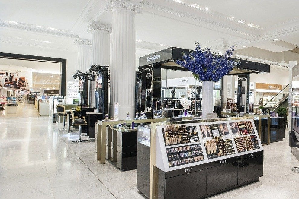 "Selfridges ""Beauty Hall"""