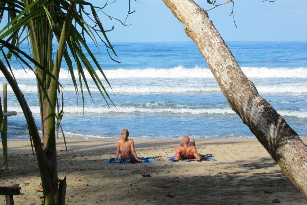 Costa Rican beach paradise