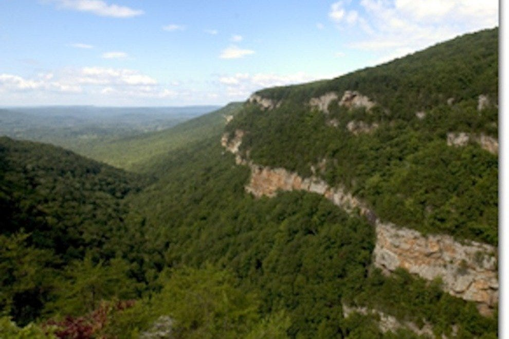 Cloudland Canyon State Park is one of the most scenic parks in Georgia