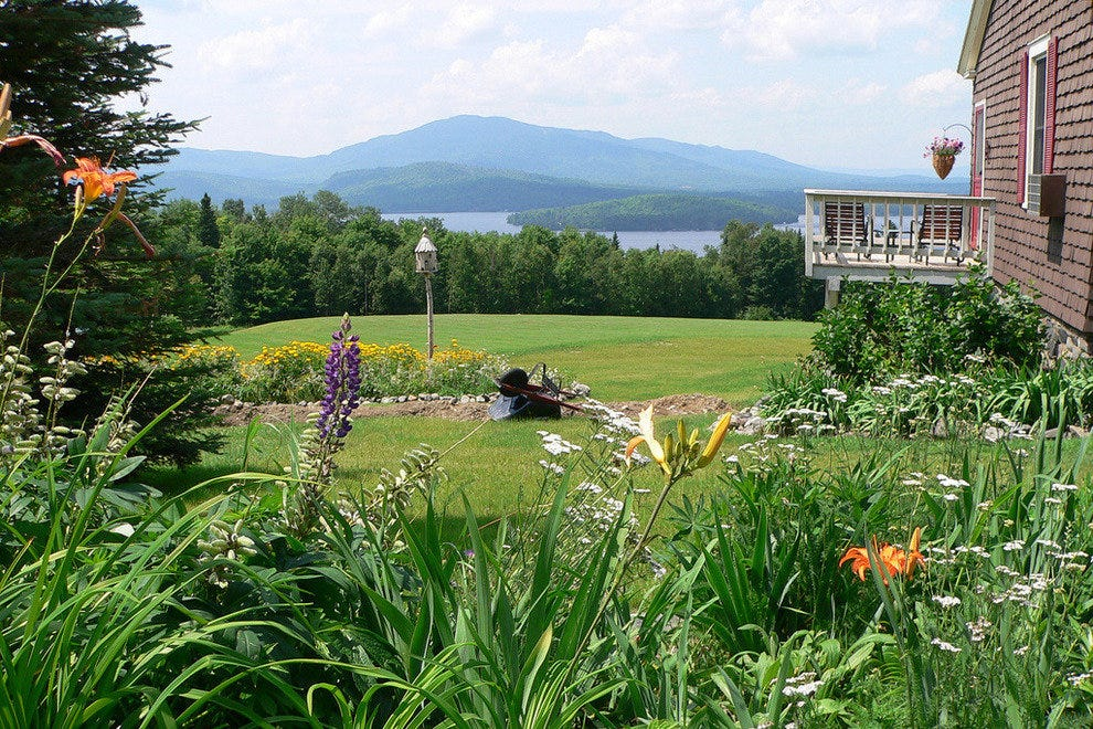 Moosehead Lake in summer