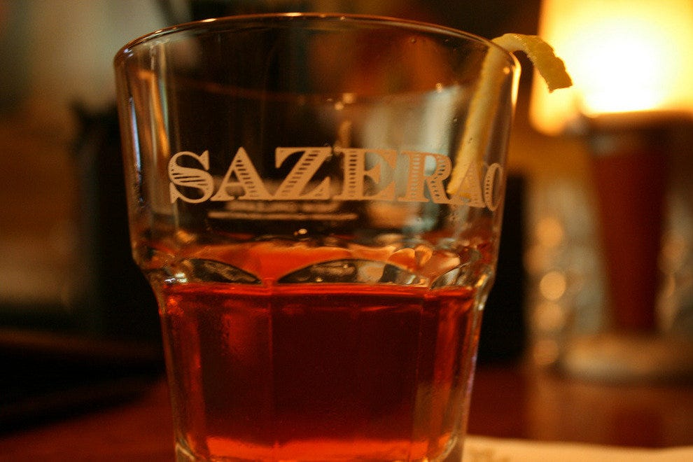 Sazerac, similar to what you'll get at City House