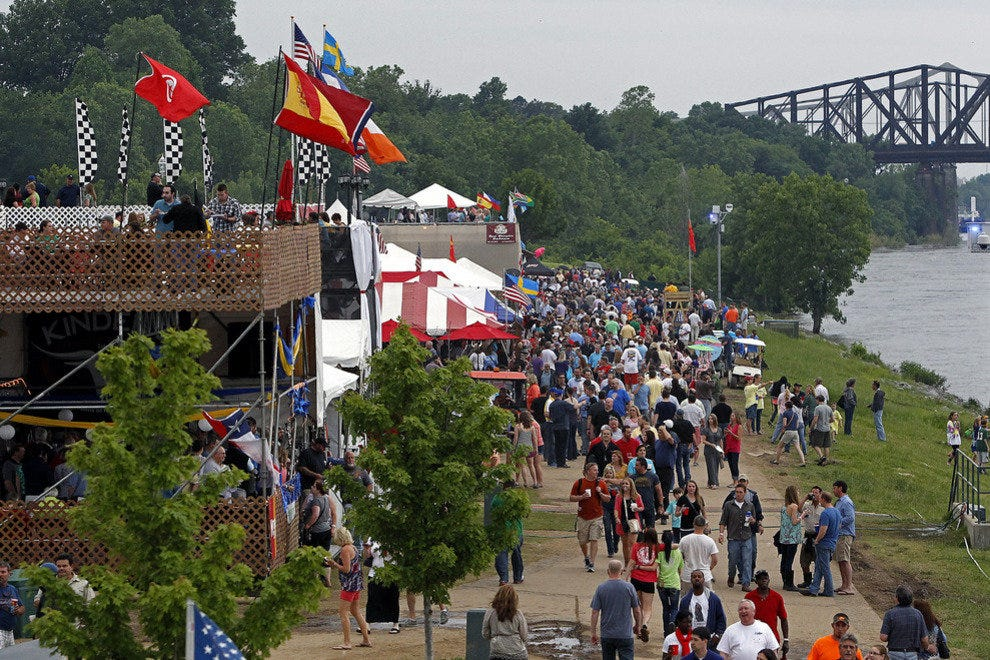 Along the Mighty Mississippi, there's smore and plenty of great barbecue at the Superbowl of Swine, the unofficial name of the Memphis in May World Championship Barbecue Cooking Contest.