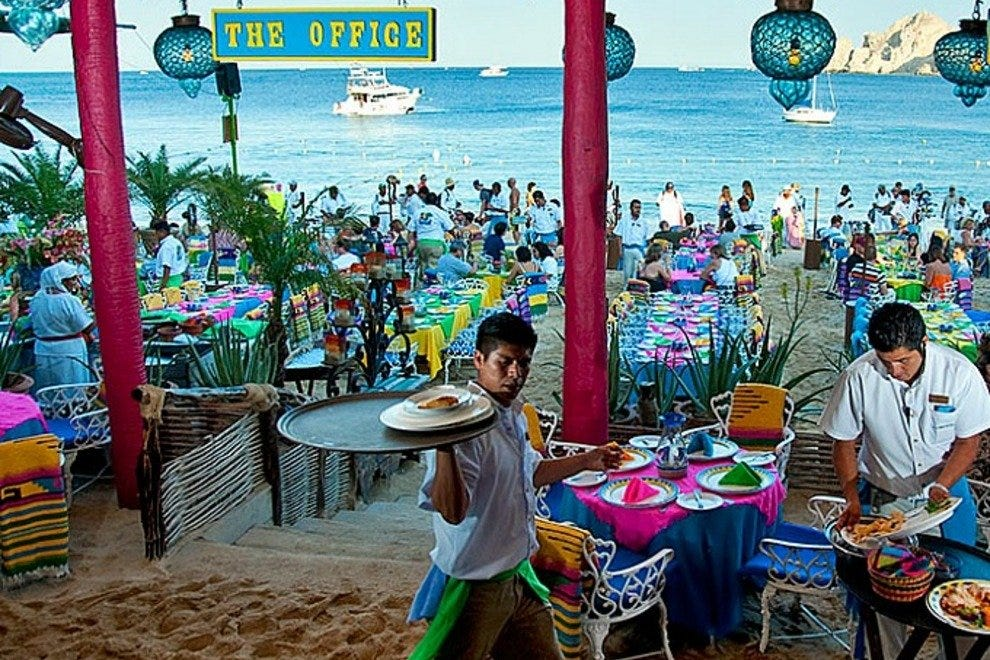 Medano Beach is a mandatory stop for first time visitors to Cabo San Lucas.