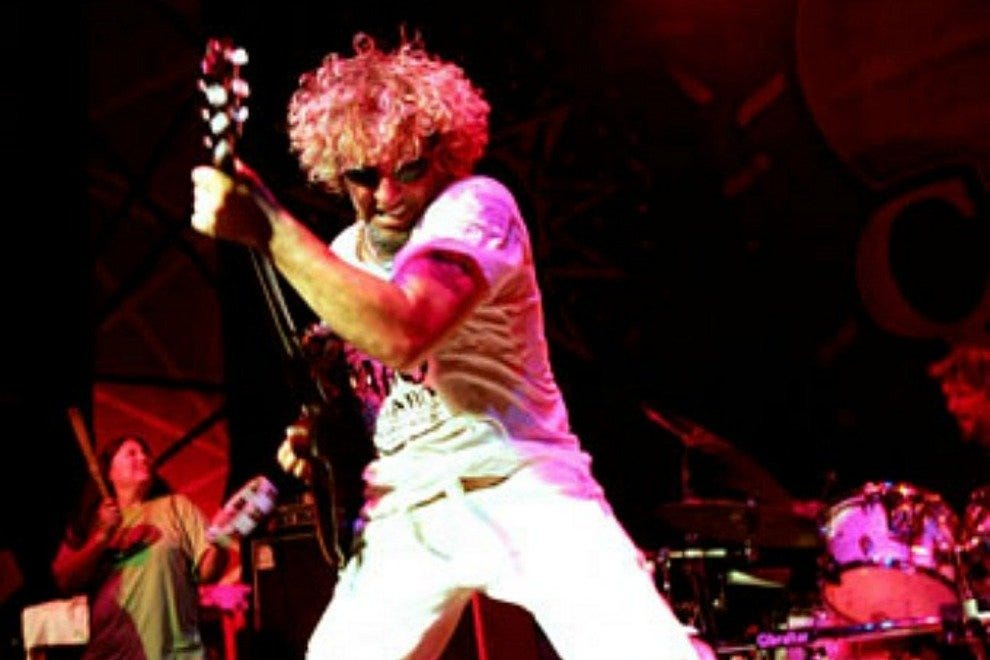 Founded by former Van Halen frontman Sammy Hagar, Cabo Wabo has been a local nightlife fixture since 1990.
