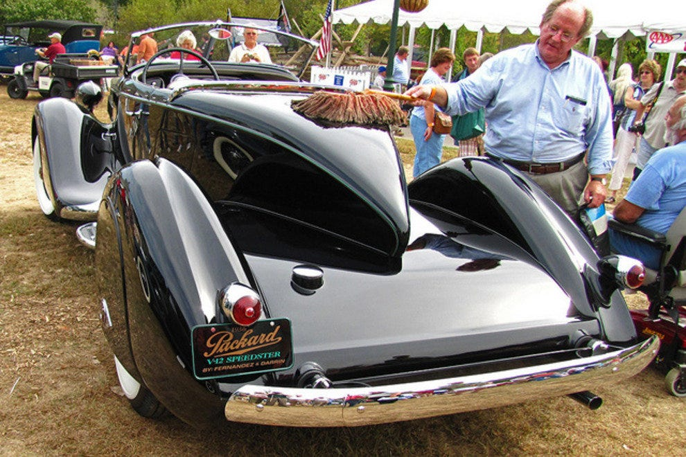 A one-of-a-kind 1936 Packard V12