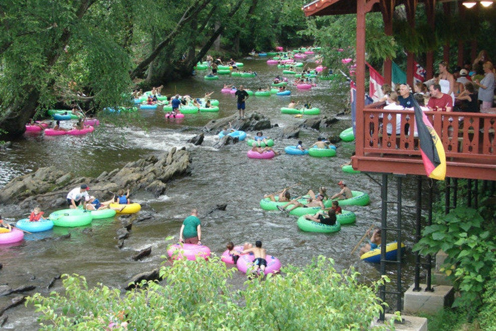 Floatilla Super Places To Go Tubing Features Photo