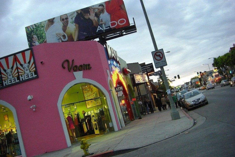 Melrose avenue clothing online store