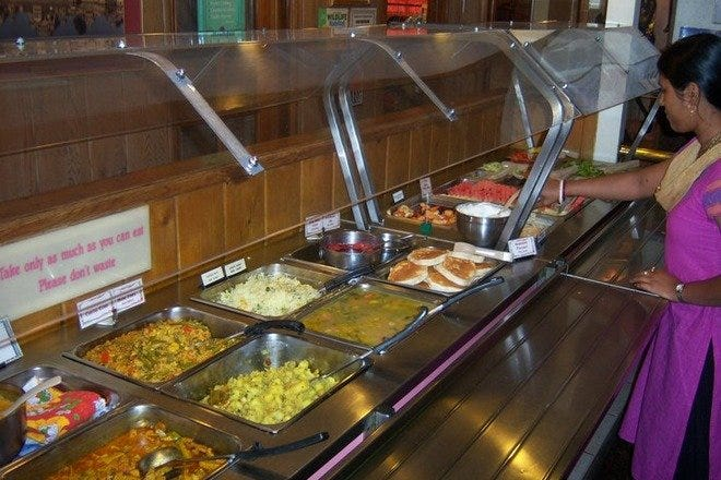 Govinda Natural Foods Buffet