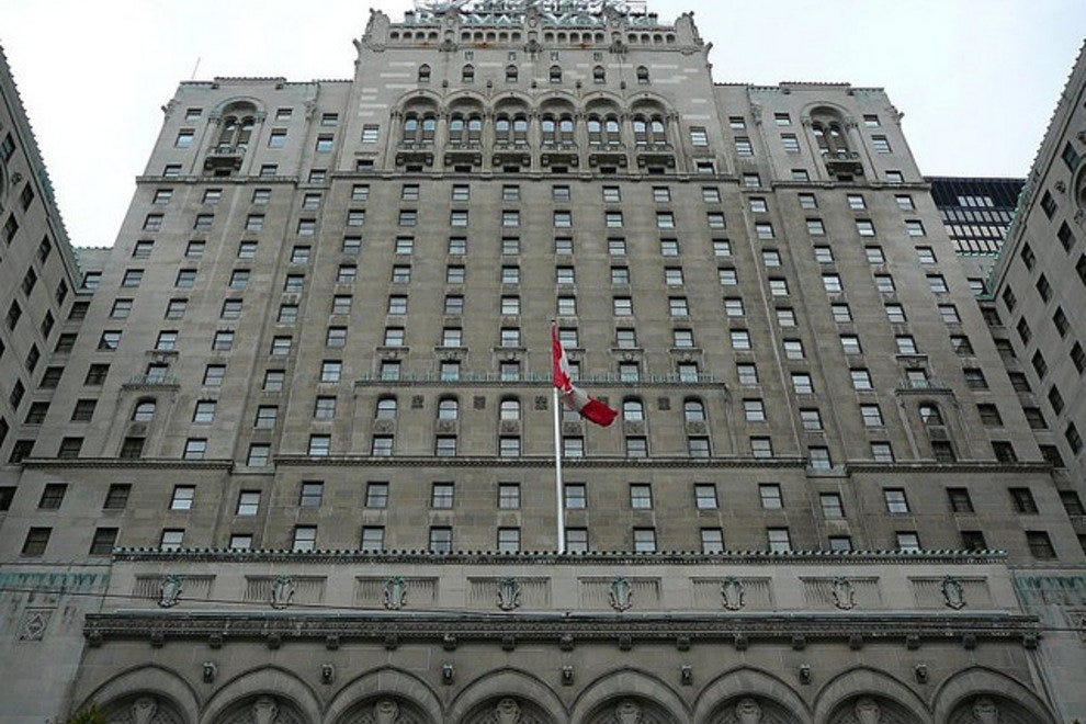 Toronto's grand Fairmont Royal York Hotel