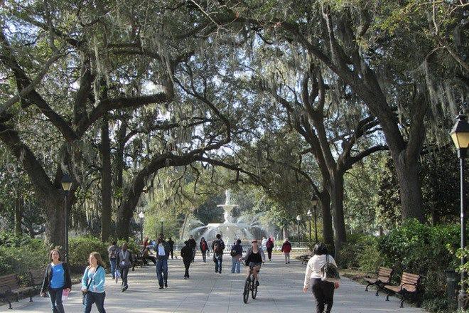 Parks in Savannah
