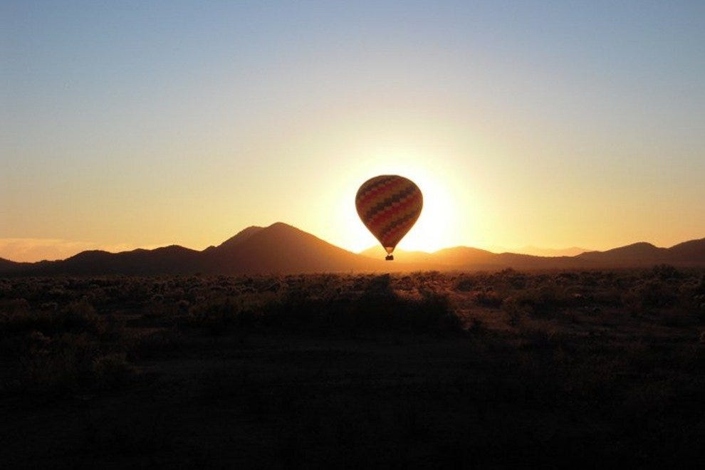 Take an unforgettable hot-air balloon ride