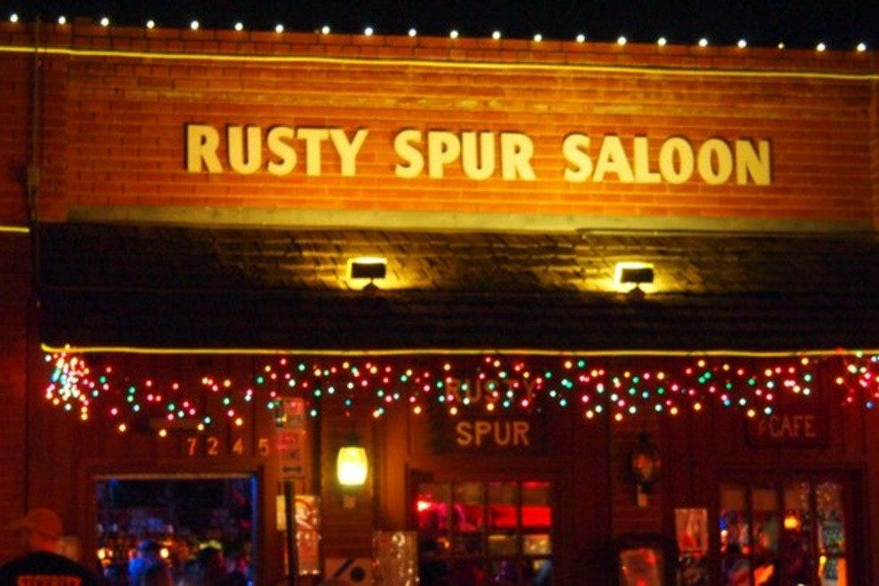 Soak up the local history at the Rusty Spur Saloon, Scottsdale's oldest watering hole.