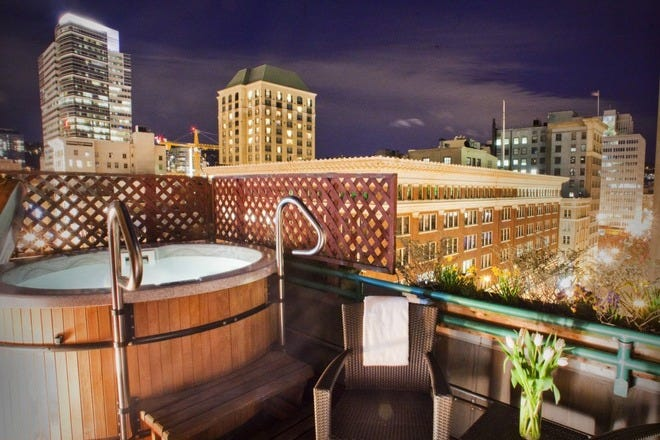 Romantic Hotels in Portland