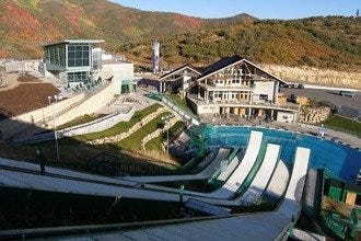 Park City's Freaky Ski-Trick Training Pool