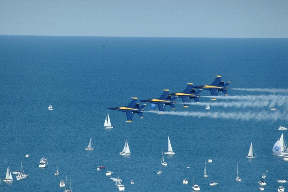 Chicago Air and Water Show - Chicago, IL