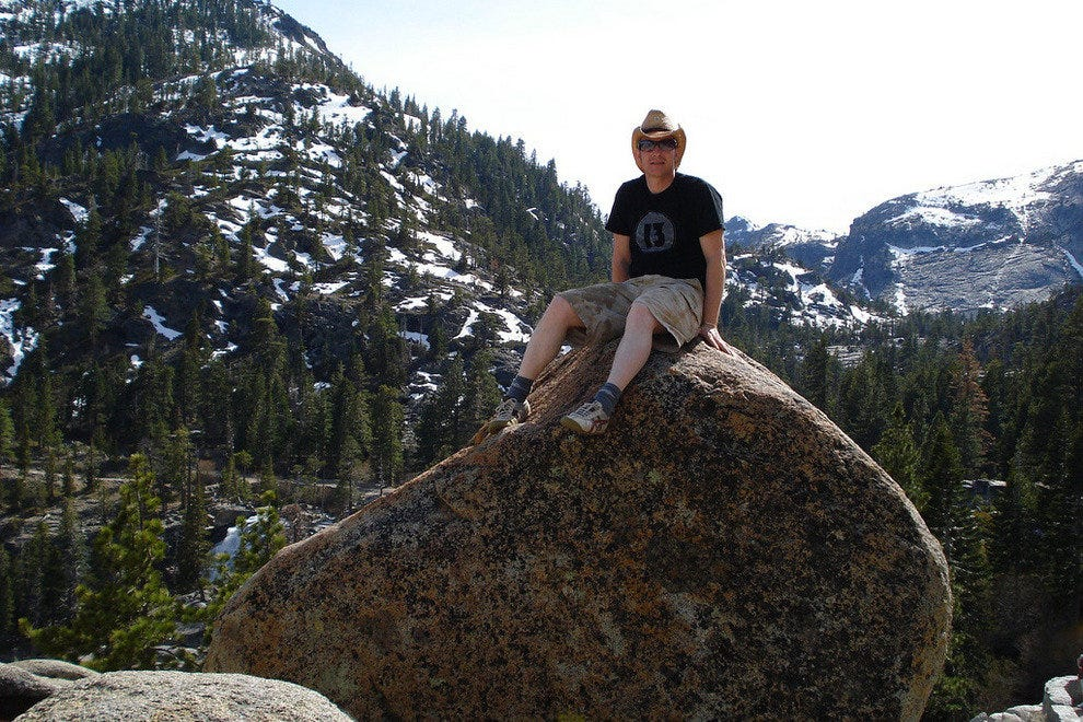 While there is still snow in Tahoe in the spring, you can still go hiking