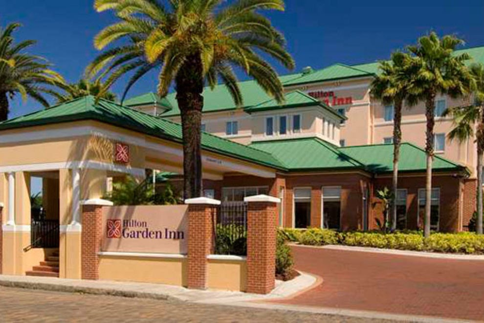 Hilton Garden Inn Tampa Ybor Historic District St Petersburg Clearwater Hotels Review