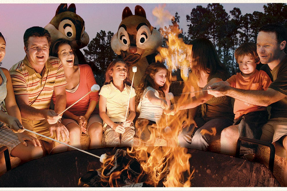 Chip 'N Dale's Campfire Sing-A-Long