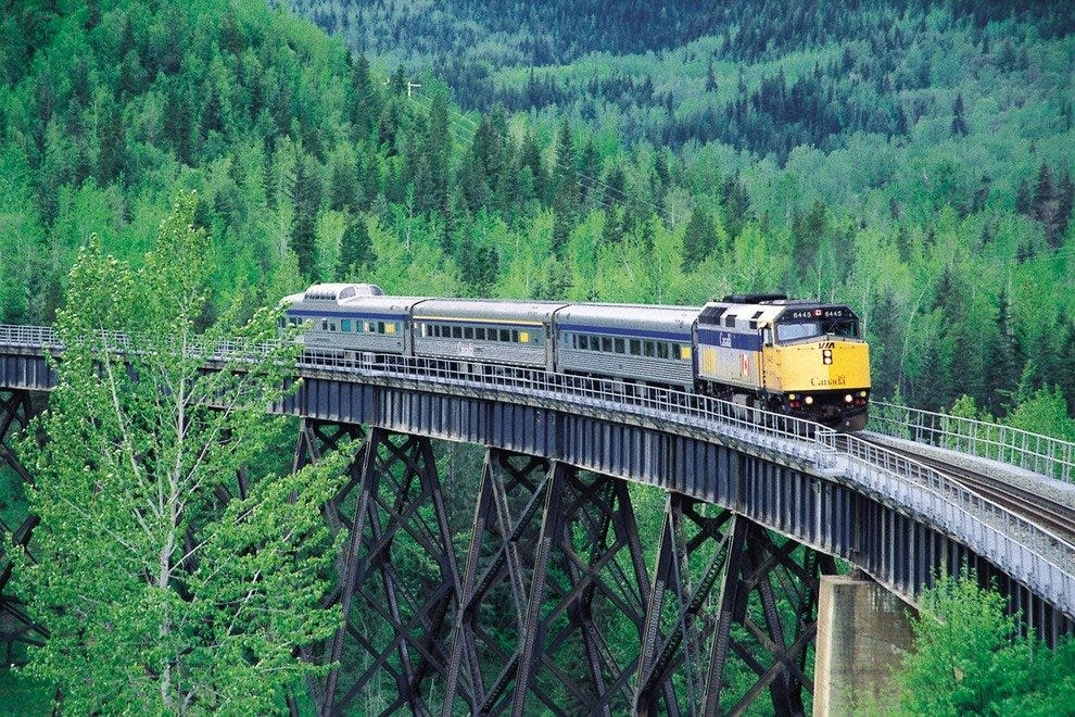 Train Trip through British Columbia