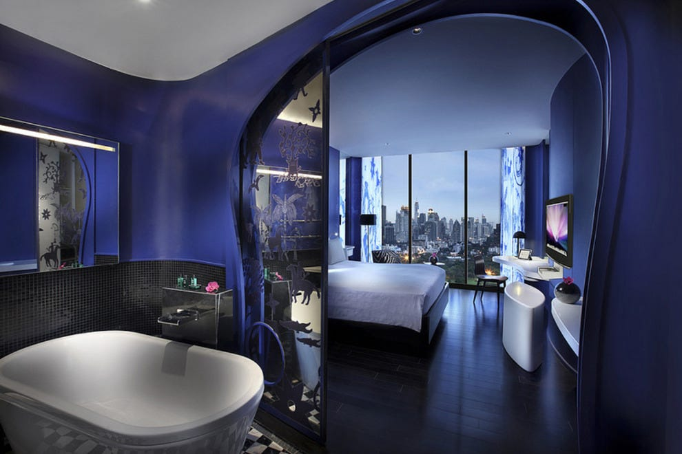 Bangkok romantic hotels in bangkok romantic hotel for Best design boutique hotels thailand