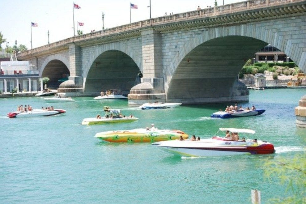 Touch a piece of history with a tour of the world-famous London Bridge in Lake Havasu City.