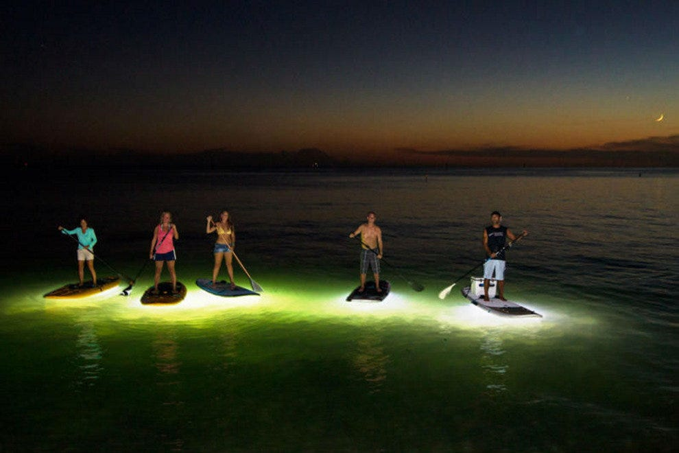 Nightboarding at Ibis Bay